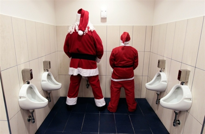 EVEN SANTAS HAVE TO GO!
